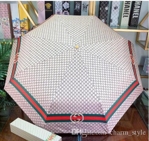 Lassen Sie Verschiffen 2020 neue Groß- und Kleinhandel hochwertige populäre Art Regenschirm Top-Farbmischung regen Getriebe mit dem Kasten