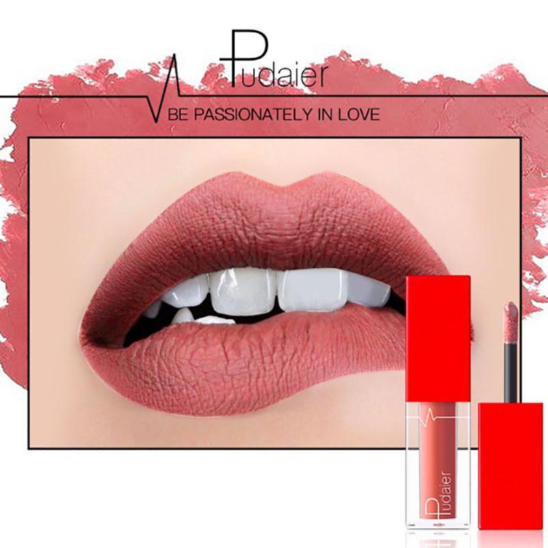 3.5g Matte Lipstick Set 18 Colors Liquid Lipstick Lip Tint Matte Velvet 24h Long Lasting Non-stick Cup Lip Makeup