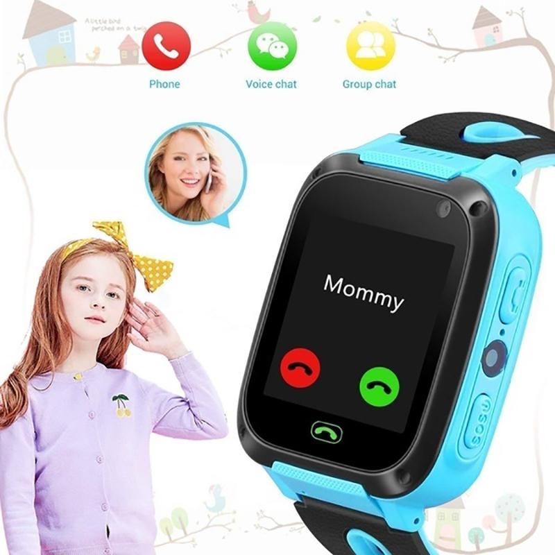 Kinder Kind Smart Watch Anti-verlorene Pfund Positionierung Wecker wasserdicht nehmen Bild Beleuchtung Smart Kinder Uhr Anruf tätigen J190526