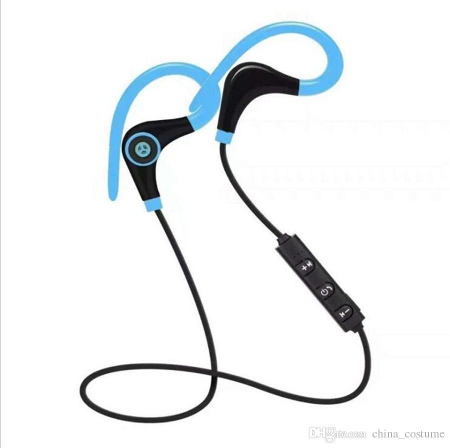 50PCS BT-1 Earphone Big Horn Sports Hanging Ear Portable Bluetooth Headset FOR: IPHONE HUAWEI Samsung Motorola Xiaomi LG NOKIA Headphone