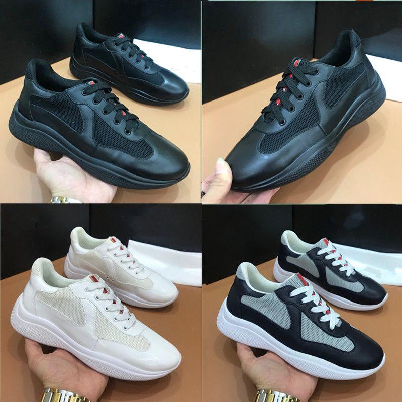 2020 Neue Ankunft Herren Freizeitschuhe Top Qualität Männer Turnschuhe Männer Klassische Mode Luxurys Designer Schuhe Schaffell Einlegesohle Modell Größe38 ~ 45