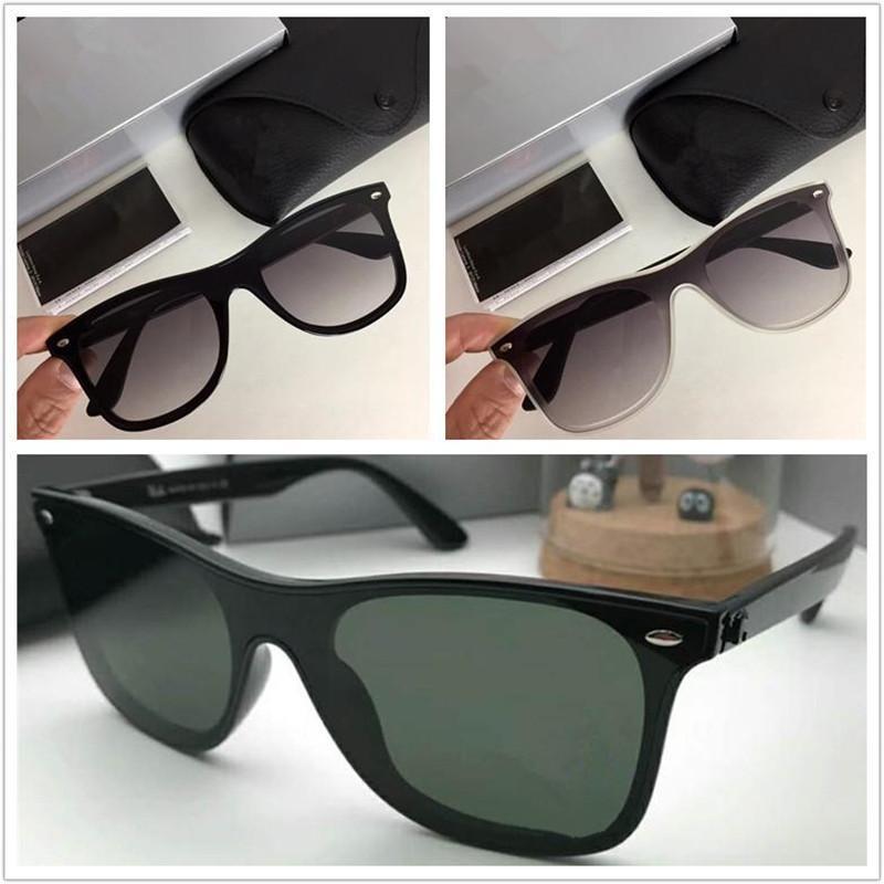 موضة جديدة مصمم العلامة التجارية الفاخرة خفيفة نظارات شمس رجل إمرأة خمر الكلاسيكية نظارات الشمس أعلى جودة النظارات الشمسية في الهواء الطلق النظارات الشمسية 4440n