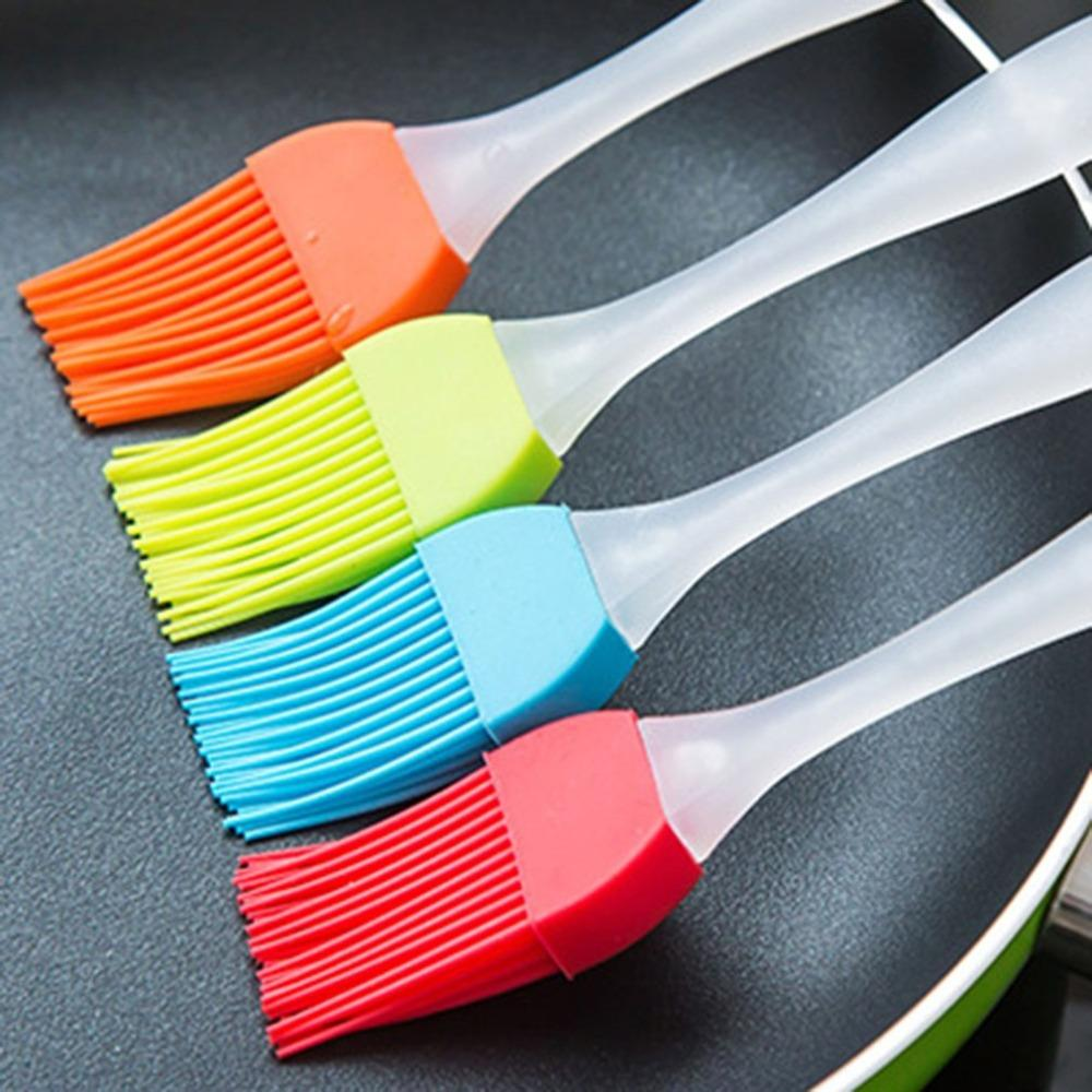 Newest Silicone Brush Baking Bakeware Bread Cook Brushes Pastry Oil Non-stick BBQ Basting Brushes Tool Best Kitchen Gadget