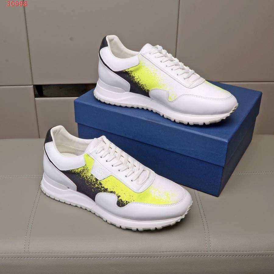 2019 yeni tasarım erkekler Ayakkabı çiçek baskıları kutu boyutu 38-45 ile gelen dış taban rahat ayakkabı rahat açık hakiki deri markası patchwork