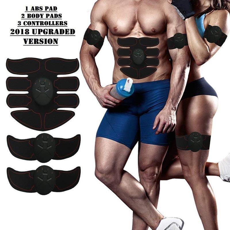 العضلات الكهربائية تحفيز التدريب آلة البطن العضلات المدرب الجسم التخسيس حرق التمارين كمال الأجسام مدلك