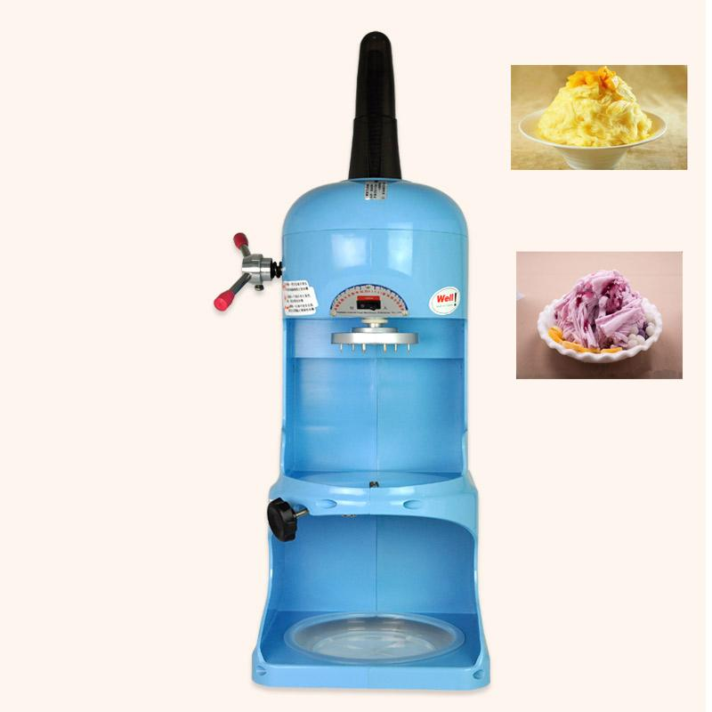 Free Shipping Korea Ice Crusher Snow Cone Ice Machine High Quality Automatic Ice Crusher Tea Shop Equipment For Sale