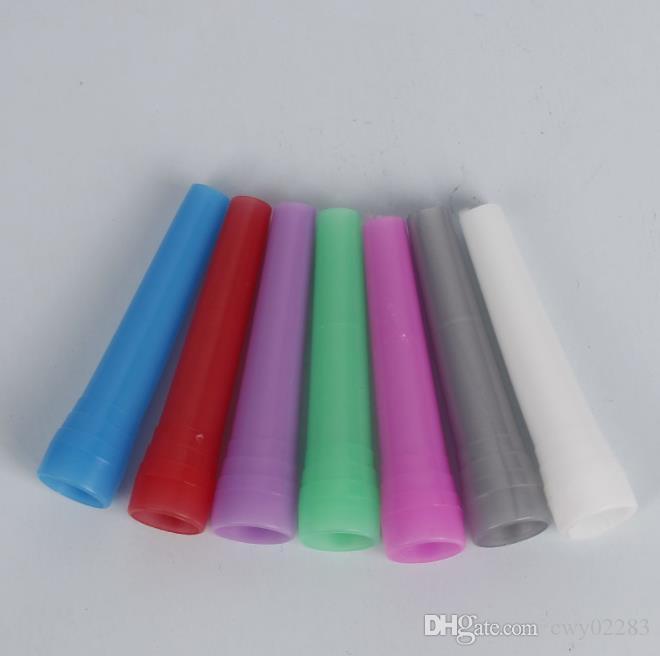 핫 판매 긴 - 극 담배 주전자 액세서리 플라스틱 일회용 환경 보호 물린 피팅의 새로운 유형의 시가 100 조각
