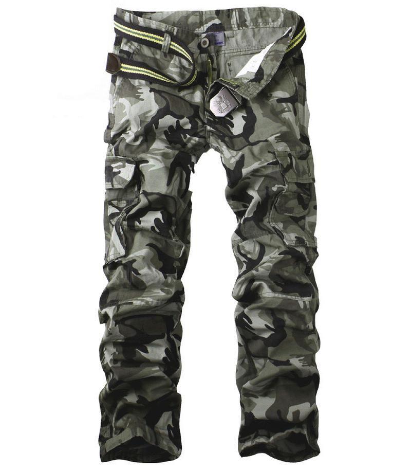 Hot 100% coton de haute qualité spot camouflage Pantalons