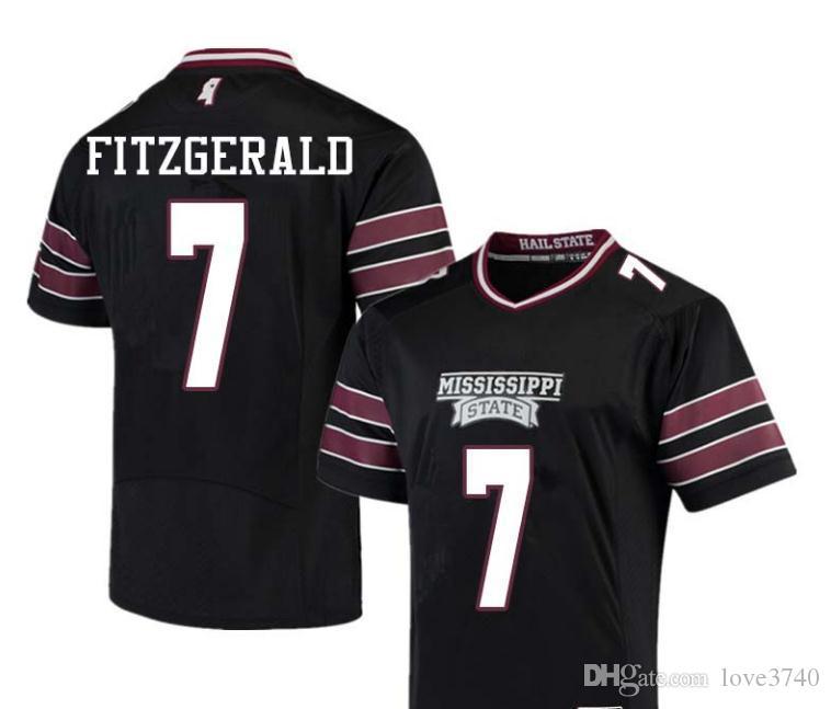 Personalizado para hombre, jóvenes, mujeres, niño, Mississippi State Bulldogs personalizado cualquier nombre y número cualquier tamaño cosido calidad superior College jersey