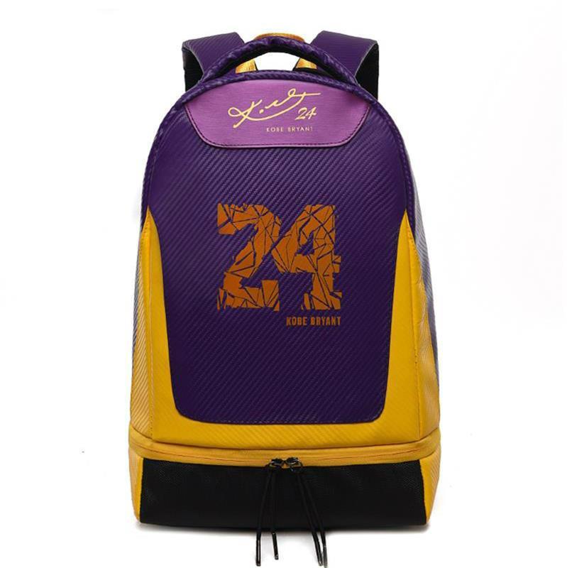 Explosiones calientes Backapck marca de diseño Bolsas inconformista bolsa de manera ocasional Estudiante del deporte del baloncesto del bolso del recorrido del morral # 64b2e