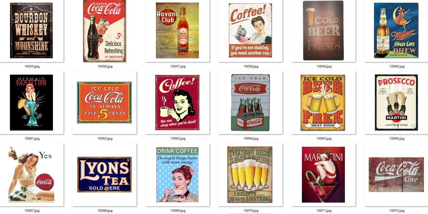 Vintage Captain Morgan cerveja café uísque beber de metal pintura sinais retro do sinal Craft Tin Wall Art Bar Pub cartaz chapa etiqueta