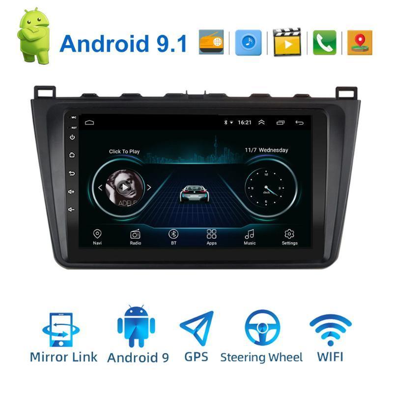 "9"" 2DIN Android 9.1 radio de coche estéreo para 6 Rui ala 2009-2014 2008 Coche Reproductor multimedia GPS WIFI Bluetooth"