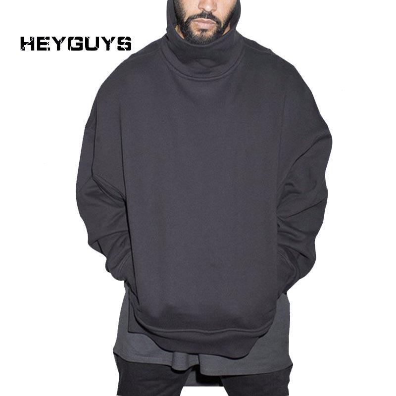 HEYGUYS 2016 hommes femmes Hip Hop Streetwear pur Sweatshirts haut de la rue des pulls molletonnés hommes ne jurent que des vêtements de créateurs de vêtements à l'ouest