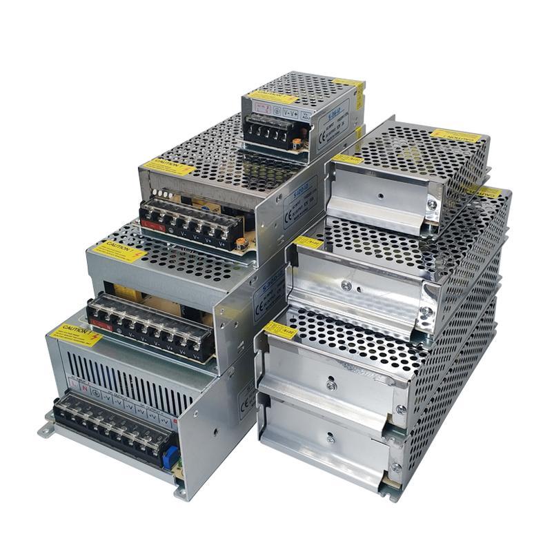 Источник питания Источник адаптер DC12V 3A 5A 8.5A 10A 12A 15A 20A 30A LED освещение Transformersfor прокладки водить AC100-240V к DC12V LED Трансформатор