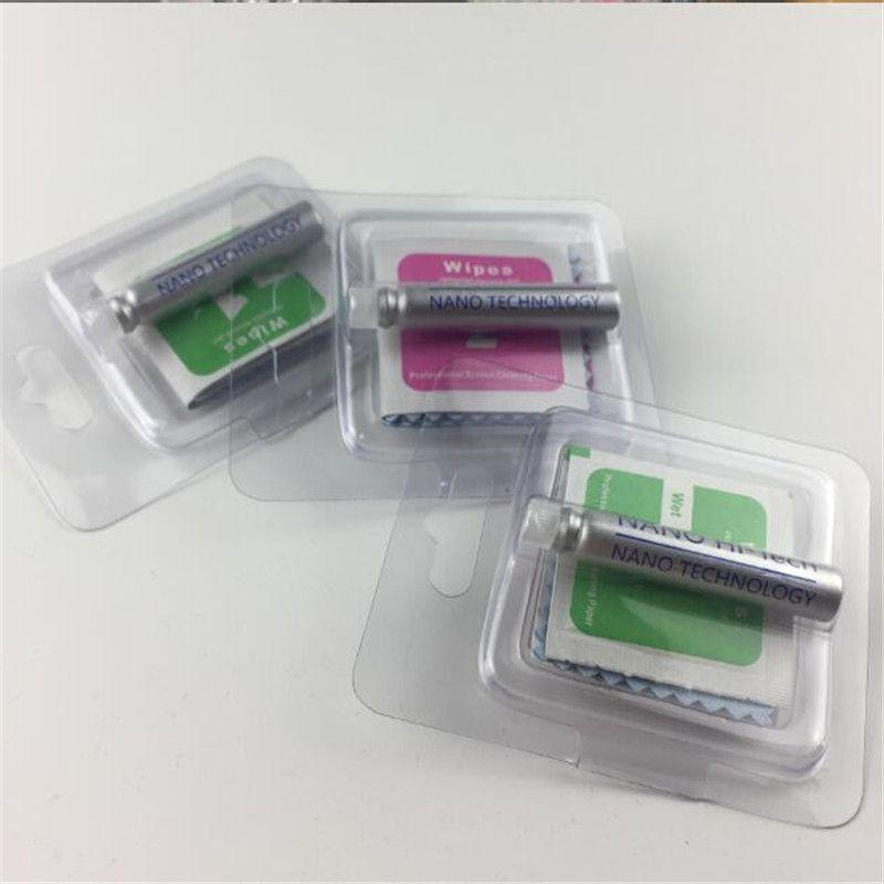 Protezione schermo liquido Nano Tecnologia per iPhone 13 12 11 x XS Max XR 8 Plus Universal 3D curvo bordo antigraffio antigraffio in vetro temperato