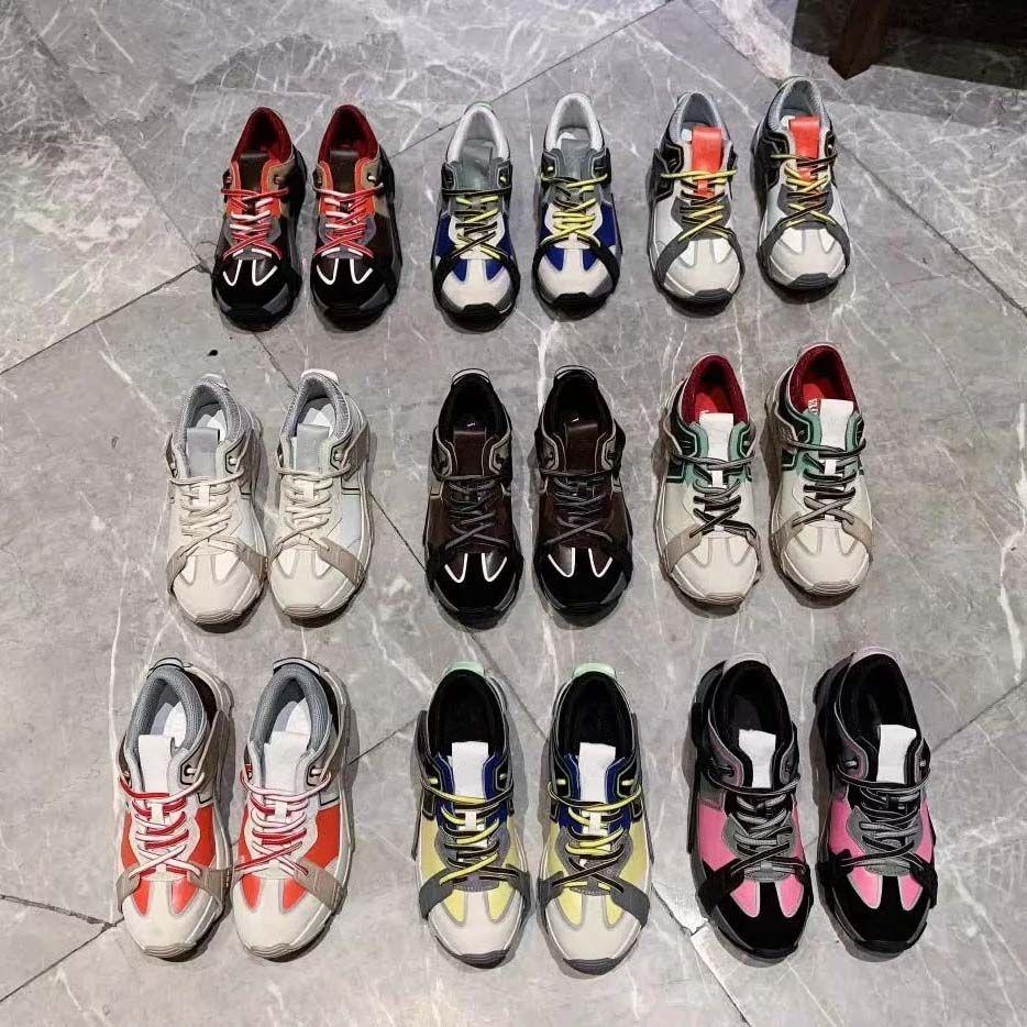 Avec la boîte espadrille chaussures Casual Formateurs chaussures de sport mode Chaussures Baskets meilleure qualité pour homme femme libre DHL Par bag07 HL2801