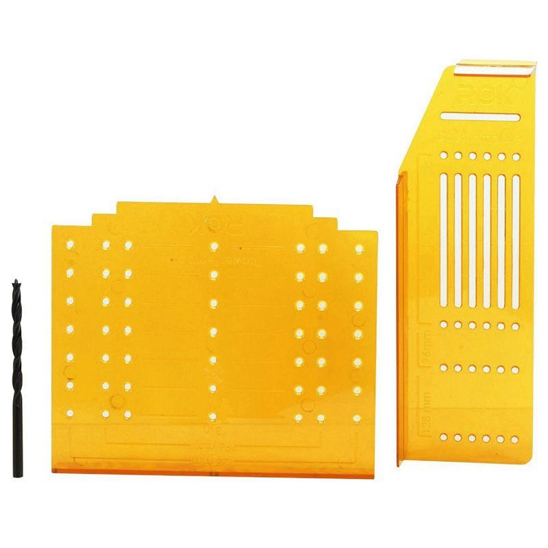 Hardware Knob Handle Pull Broca Modelo de montagem para gabinete portas e gavetas