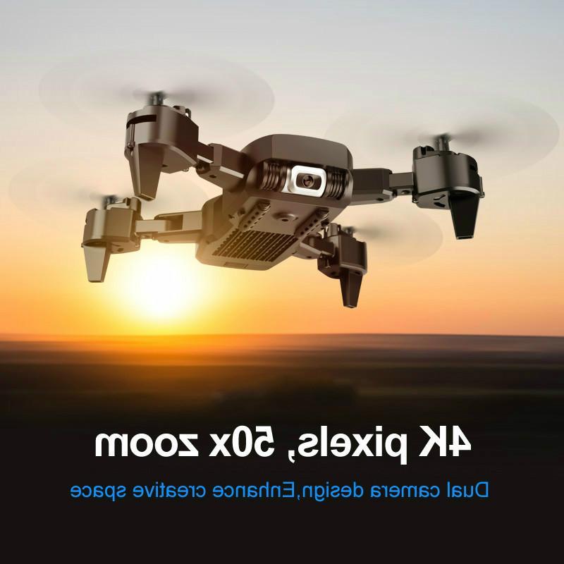 Doppia fotocamera professionale Drone 4K HD GPS pieghevole velivoli di RC WIFI FPV 20mins quadcopter giocattoli per bambini all'aperto KK6 Nuovo Helicopt 04