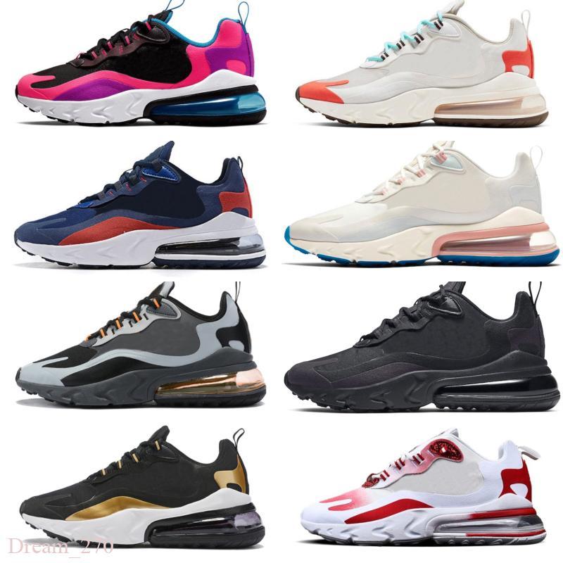 Contribuyente Cuatro Fuente  Compre Nike Air Max 270 React Nueva Cojín Reaccionar OG Mujeres De Los  Hombres Zapatos Arte Geométrico Beige De Tiza Psychedelic Moderna De  Estados Unidos Zapatillas De Deporte A 77,15 € Del