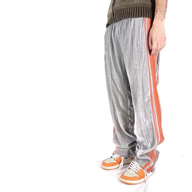 19FW 유럽 스타일의 바지 패션 바지 느슨한 바지 힙합 커플 여성과 남성 높은 품질의 바지 HFXHKZ010