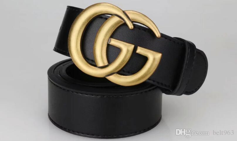 vendita 98830Fashion Belt caldo grande fibbia grande progettista del cuoio genuino della cinghia cinghie delle donne degli uomini della cinghia donne di alta qualità dei nuovi uomini come regalo