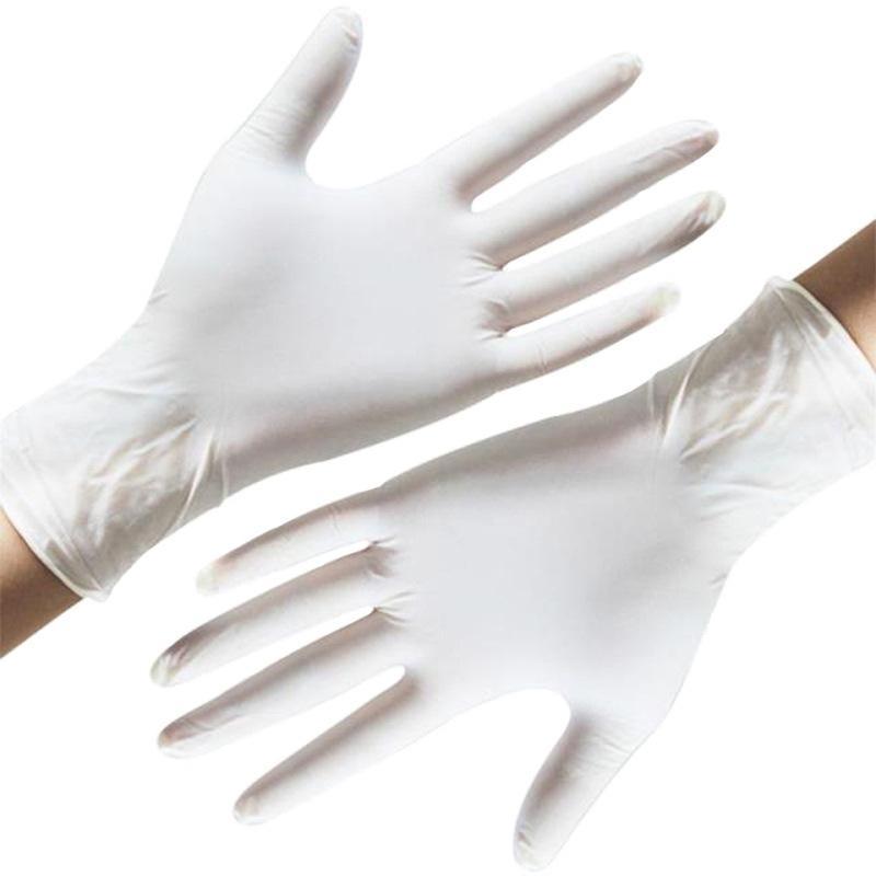 1000шт одноразовые перчатки нитриловые перчатки Дом Школа работа механик садовые перчатки для чистки в наличии заводская цена
