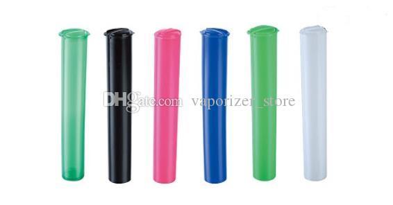 Emballage de cartouche PoP TOP Tube en plastique pour New 0,5ml 1,0ml Céramique Coil verre Pyrex Vape réservoir Atomiseur