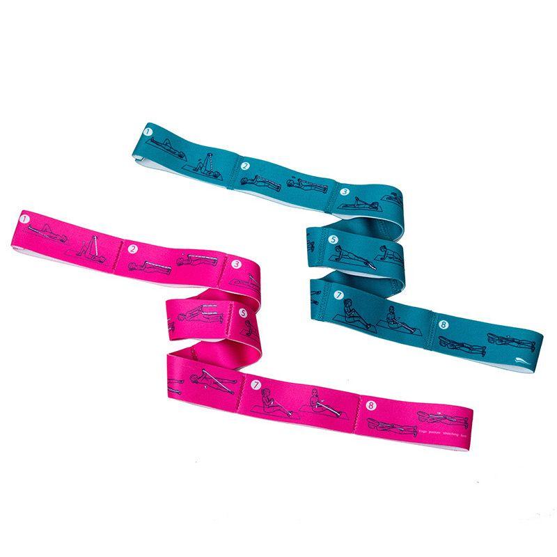 La resistenza lega Yoga Pull Strap Belt training Ginnastica professionale elastica stretching banda ciclo di corda Fitness Exercise stretc