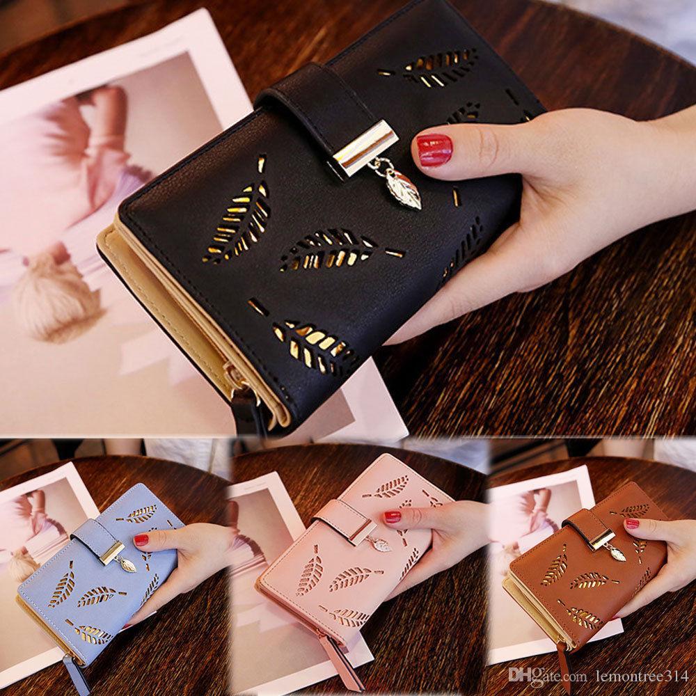 المرأة سيدة بو مخلب المحفظة طويلة حامل بطاقة محفظة مربع حقيبة فتاة الحلو أكياس حاملي بطاقات الهوية جواز سفر محفظة محفظة