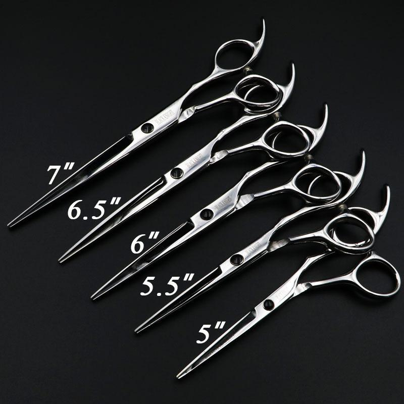 "5""/5.5""/6""/6.5""/7"" hair scissors Professional Hairdressing scissors set Cutting Barber shears High quality Personality"