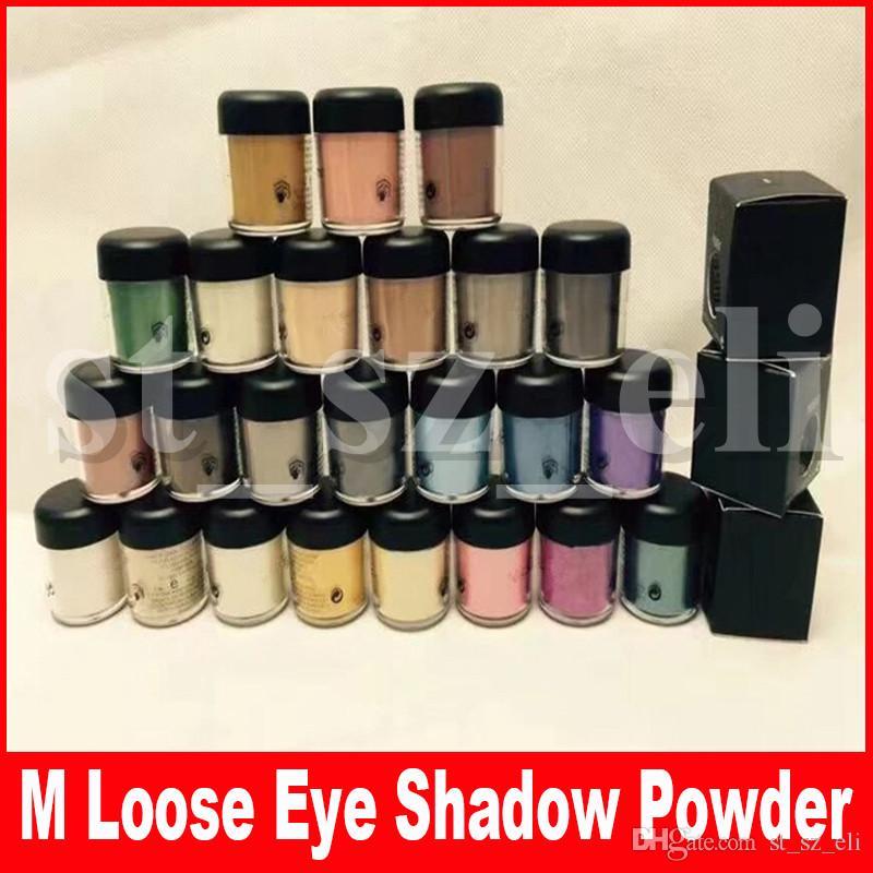 M Eye Makeup Matte Pigment Loose Eyeshadow Pigments Powder 7.5g Loose Single Eye shadow With English Name
