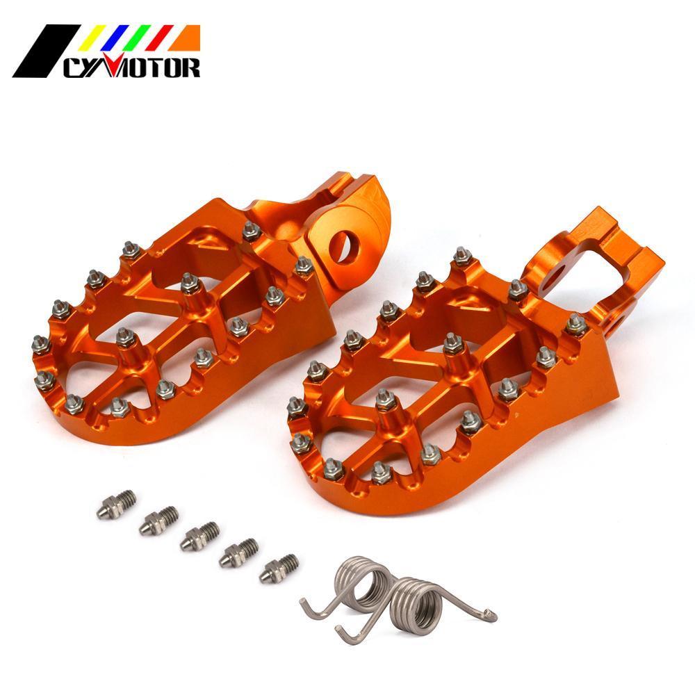 CNC moto Pied PEGS moto Footpeg Pour KXF CRF CR TC TE TX FX YZ YZF WR WRF 85 125 150 250 426 450 F R L M X FX