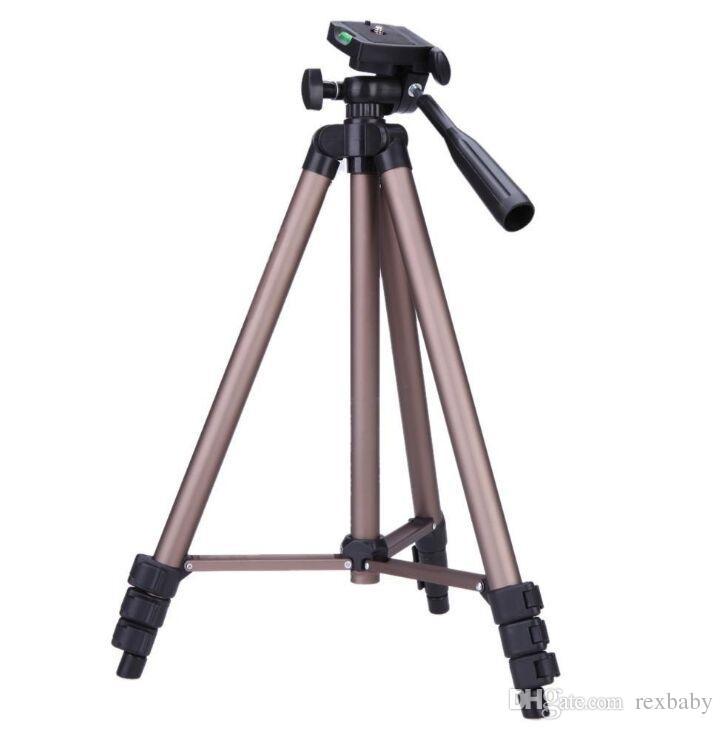 WT3130 بروتابلي كاميرا ترايبود سبائك الألومنيوم مع لوحة سريعة الإصدار ذراع الكرسي الهزاز لكانون نيكون سوني كاميرا dslr كاميرا dv
