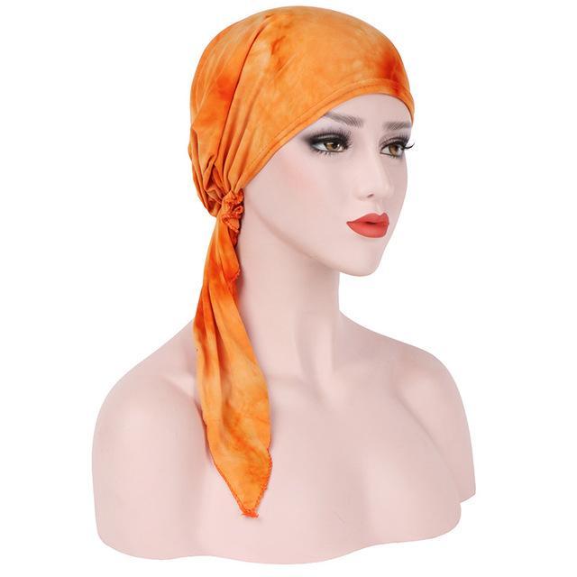 Women Hijabs Hat Muslim Islamic Scarf Scarves Hat Turban Cloth Head Cap Hat Ladies Hair Accessories Muslim Scarf
