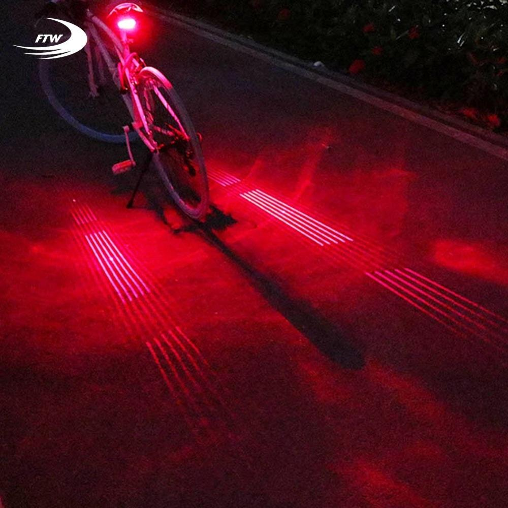 Waterproof USB Rechargeable Bike Bicycle Cycling Taillight LED Safety Rear Light