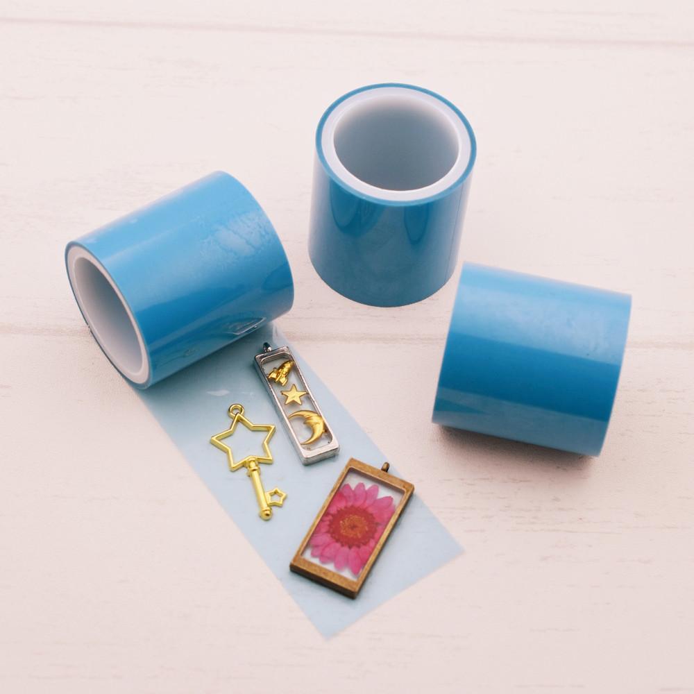 1 Roll non residual adhesive tape For Hollow Metal Frame UV Resin pendant Open Bezel Setting Helper DIY Tool