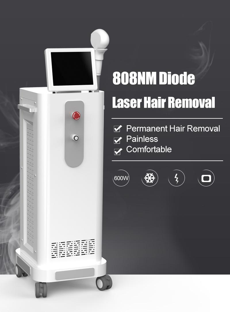 808nm Diode Laser Machine 808nm Permanent Hair Removal 808nm Diode Laser Price India Painless Hair Removal Hair Removal Laser Machines Laser Hair Removal Devices From