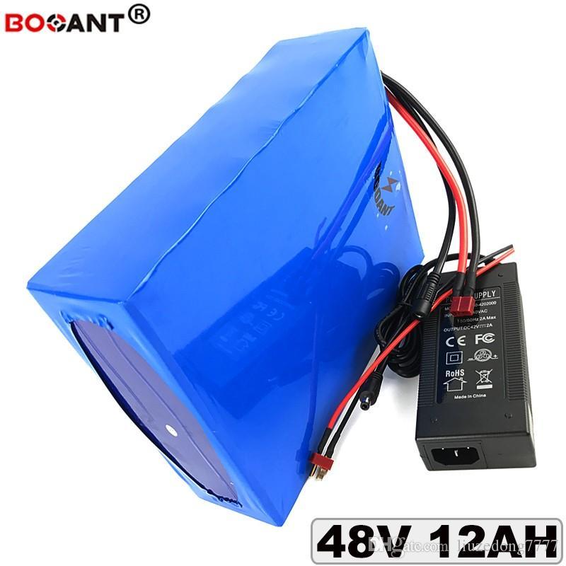 48 в 12ah для BBSHD электровелосипедов батерия де Lítio пункт Бафане 250 Вт 450 Вт двигатель 13 с 48 в получении электрическим током через тело-пилинг Каррегадор де Bateria + 2А Frete безвозмездно