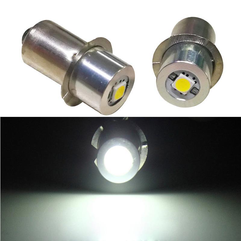 E10 P13.5S E10 1W 0.5W LED 전구 3V 6V 12V지도 된 전구 교체 토치 라이트 비상 작업 등 램프
