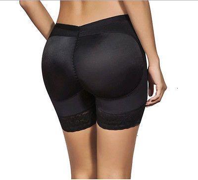 Women Black Butt Lifter Shaper Panties Shapewear Plus Size Butt Lift Padded Control Panties Shapers Clothes Xl Xxxl