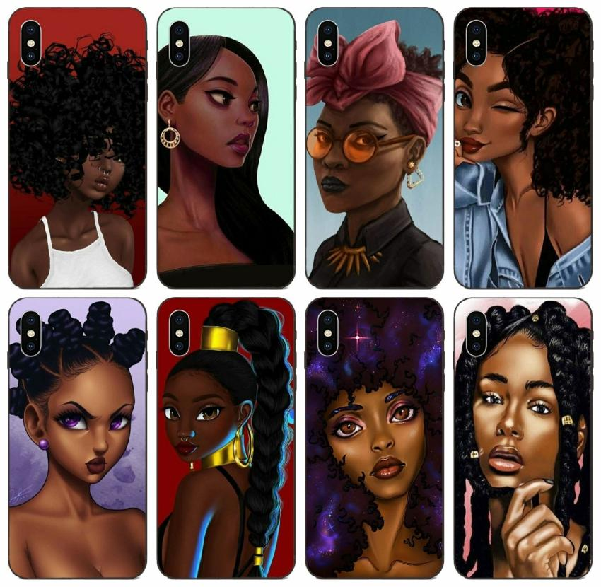 [TongTrade] Black Queen Colorful Case For iPhone 11 Pro Max X XR XS 8 7 6s 5s Plus Samsung A8 A9 Star Pro Honor 10i 20i LG K7 Brand New Case