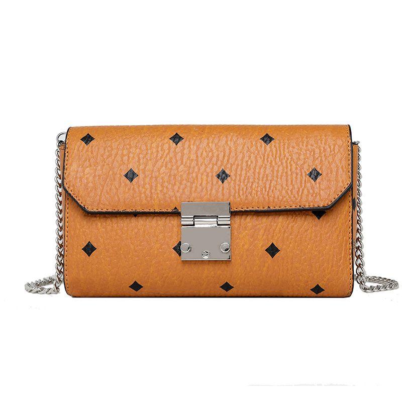 bolsas-de-rosa de luxo de designer Sugao mletter imprimir mulheres cadeia saco messenger crossbody pu couro de alta qualidade de embreagem com caixa
