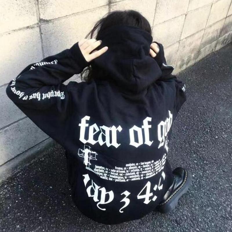 Hop New Streetwear Sudadera Negras 98 Amoyoutfit Of Hip Capucha Justin Del Sudaderas Bieber 44 Fear Con A72 Compre 2019 4 God k8X0nwPO