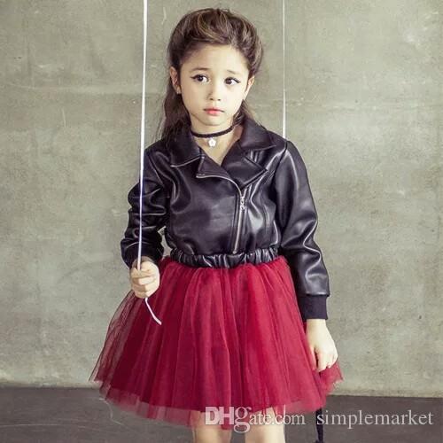 gençlerin kış örgü dikiş etek uzun kollu küçük kızlar giyim prenses elbise çocuklar tasarımcı ceketler kız bebek yılbaşı kıyafetler
