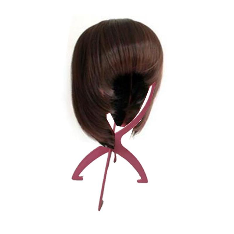 Economic Plastic Wig Hair holder Durable Hair Support Hat Cap Holder Display Easy Fake hair accessories Tool Jewelry Necklace Stand