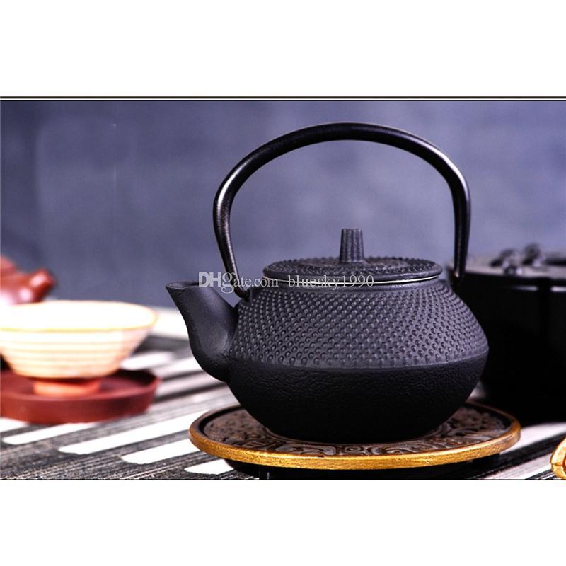 300ml estilo japonés de hierro fundido de la caldera Tetsubin Tetera Viene con filtro de flores juego de té de Puer de la caldera de café de la tetera