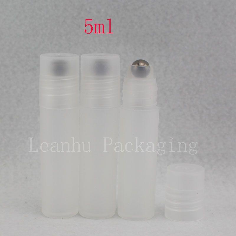 5 мл roll on roller прозрачные пластиковые бутылки для эфирных масел roll-on многоразового использования флакон духов дезодорант контейнеры крышка
