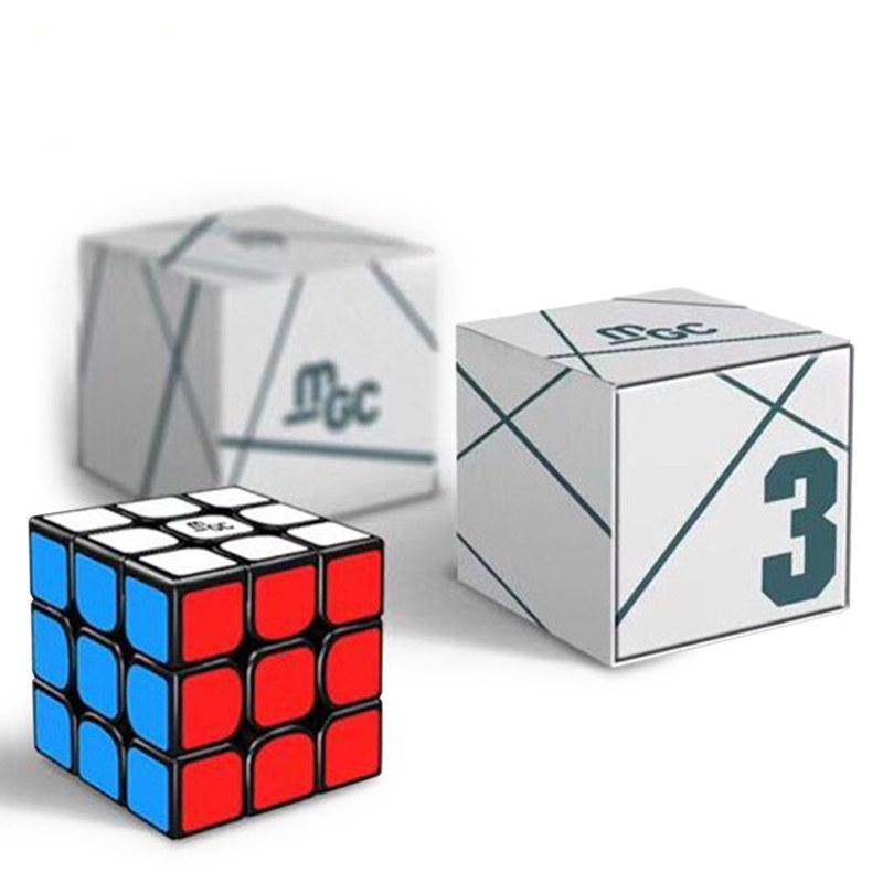 Yongjun MGC Cubo Magnético 3x3x3 MGC Magic Speed Cube 3x3 Jogo de Puzzle Cubo Mágico Campeonato Por Ímãs 3 por 3 Cubo