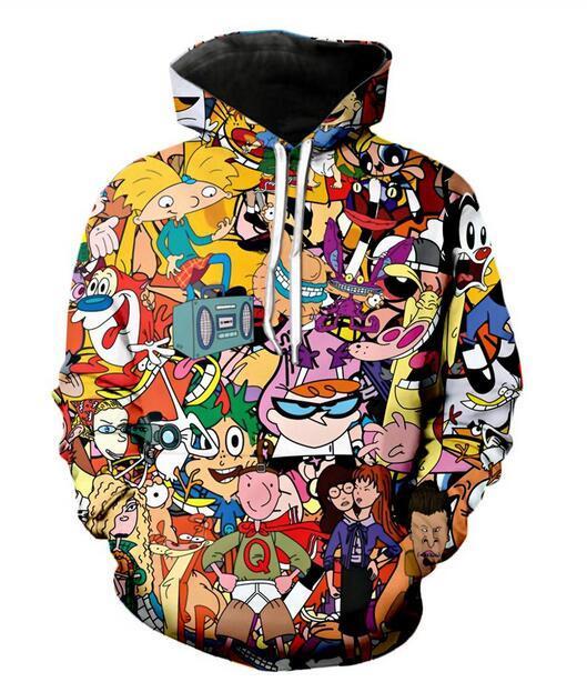 Mens Designer Hoodies für Frauen Männer Paare Sweatshirt Liebhaber 3D Cartoon Total 90 Hoodies Coats Hoodies Tees Kleidung RR0109