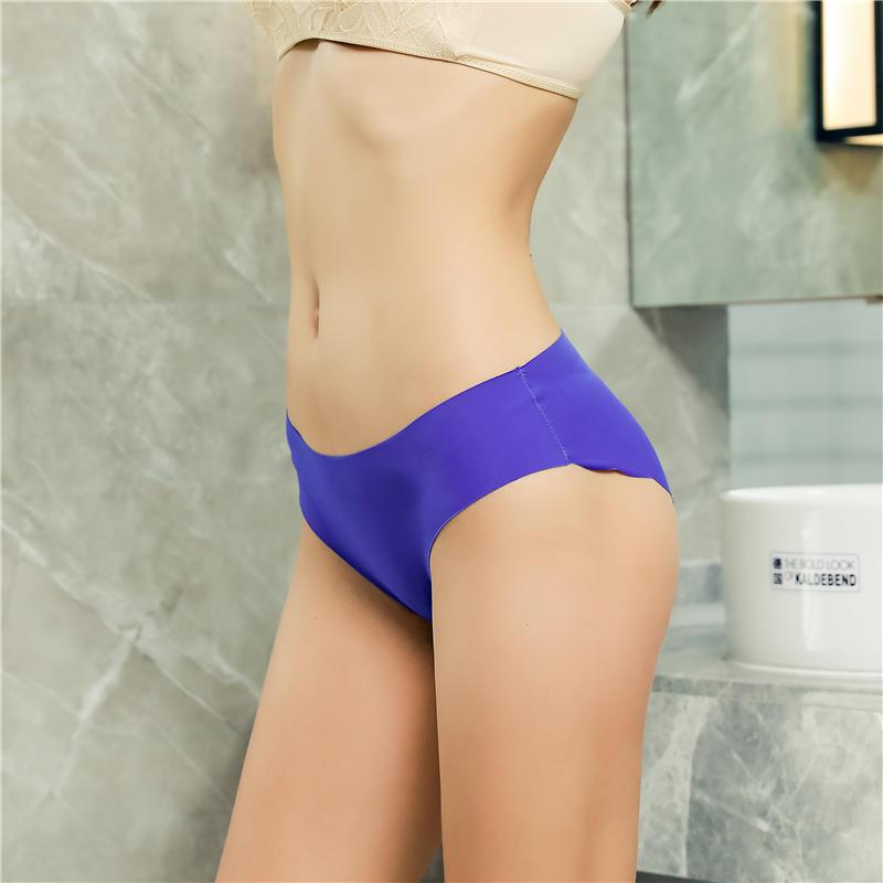 Fashion Seamless Panties Women Underwear Female Soft Intimates Women's Underpants Low-Rise Briefs 8 Colors Lingerie Panties